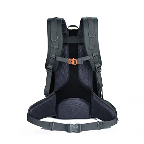 Z&N Backpack Capacidad 40L Ocio Al Aire Libre Se Divierte El Morral Del Alpinismo Bolso Ordenador PortáTil Bolso Escuela Paquete Acampa Partido Comida Campestre Multiusos Uso Diario A 40L E