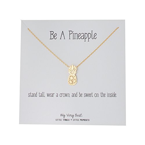 My Very Best Dainty Pineapple Necklace