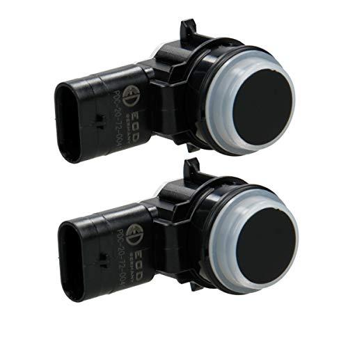 ECD-Germany 2x parking assistance parking sensor PDC sensor rear ultrasonic sensor: