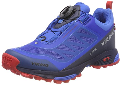 Senderismo Anaconda Azul Zapatillas Light Viking 49 GTX de Boa Mid Unisex Adulto Blue WTBRw4YqBf