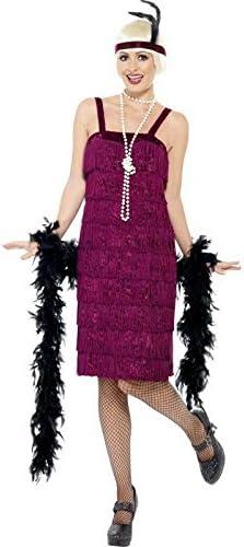 Disfraz cabaret Mujer (Diff colores), X1, rojo: Amazon.es ...