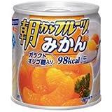 はごろもフーズ 朝からフルーツ みかん190g缶×24個入×(2ケース)