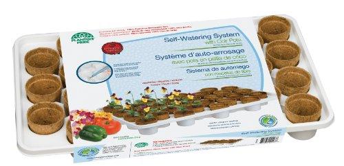 - Planters Pride RZ.WTR0C Self-Watering System with Fiber Grow Coconut Coir Pots