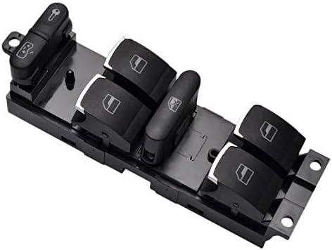 Growment Interrupteur Principal de Commande de L/èVe-Vitre pour V-W 99-04 4 Mk4 Beetle Passat B5 B5.5 3Bd 959 857