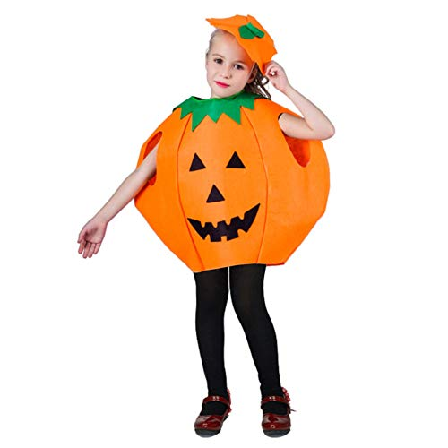 Homemade Halloween Costumes For Toddlers Girls - Halloween Pumpkin Cosplay Costume Party Clothes