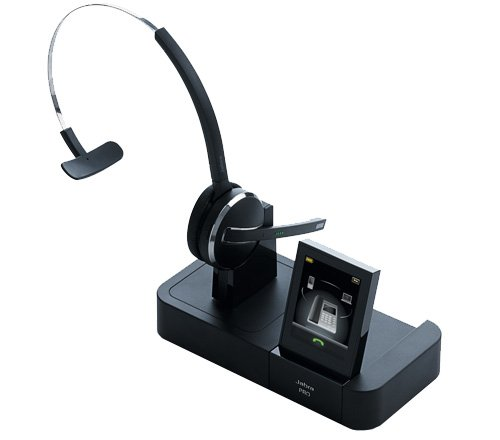 Jabra PRO 9470 Mono Wireless Headset with GN1000 Remote Handset Lifter (2-Pack) by Jabra (Image #1)