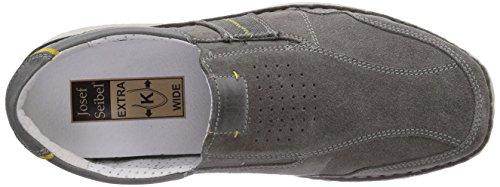Josef Seibel Anvers 26 - Zapatillas de casa de cuero hombre gris - Grau (949 508 ash/kombi)