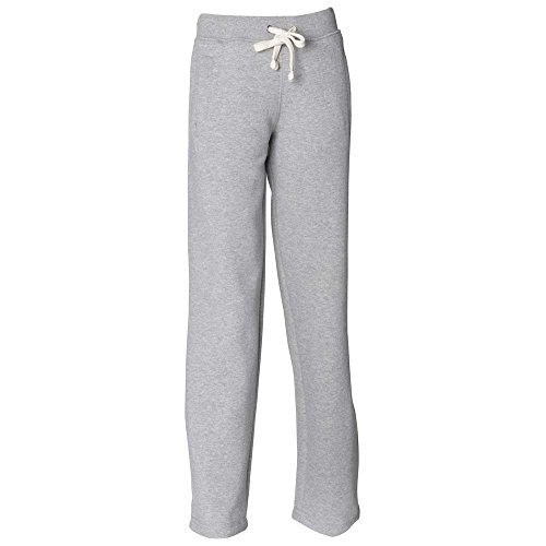 Front Row Mens Jogging Track Sweat Pants Heather Grey