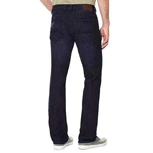Buffalo David Bitton Mens Driven-X Basic Straight Stretch Jean (34W x 30L) ()