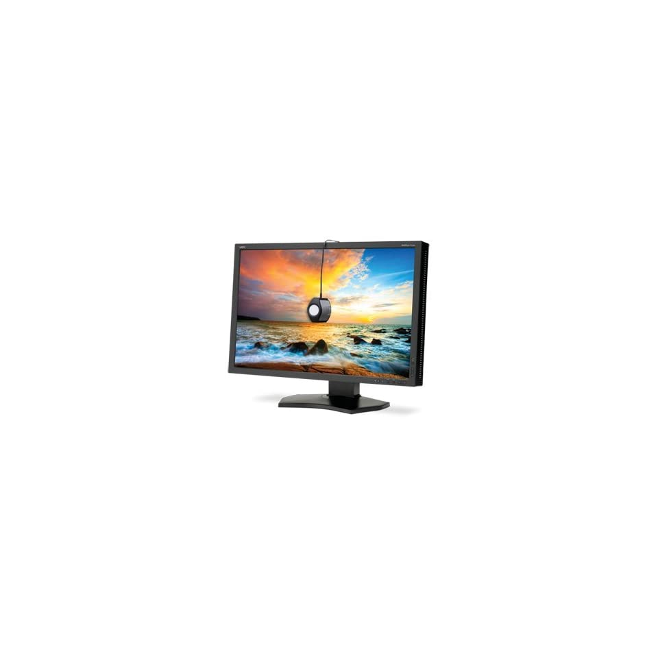 "NEC Display MultiSync P242W BK SV 24.1"" LED LCD Monitor   1610   8 ms 24IN LED 1920X1200 10001 MULTISYNC P242W BK SV DVI D VGA Adjustable Display Angle   1920 x 1200   16.7 Million Colors   1,0001   DVI   HDMI   VGA   USB   Black Computers & A"