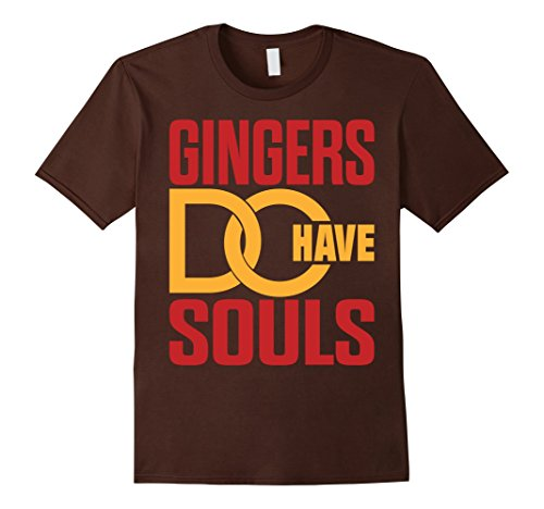 Ginger Roll 'Gingers Do Have Souls' T-Shirt - Male Medium - - Gingers Have Soul A