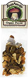 FungusAmongUs Dried Mushrooms, Organic Porcini, 1-Ounce Units (Pack of 4)