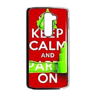 Keep Calm Tweet On LG G2 Cell Phone Case BlackF7940270