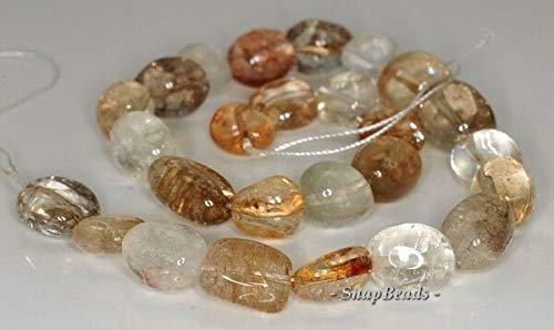 21X12-15X12MM Mix Quartz Gemstone Nugget Loose Beads 16
