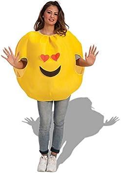 Costume Emoticone Amoureux Adulte Deguisement Carnaval Fete Smile 037 Amazon Fr Jeux Et Jouets