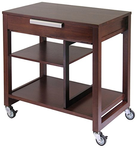 - Winsome Wood 94032 Rockford Home Office, Antique Walnut
