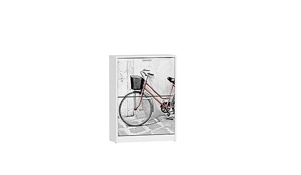 Hogar Decora Zapatero 10/13 Pares 60 x 24,2 x 82 cm Bicicleta: Amazon.es: Hogar