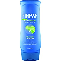 Finesse Volumize + Strengthen Volumizing Conditioner - 13oz - 6-Pack- Add Volume & Strength to Thin or Fine Hair for Fuller Looking Hair