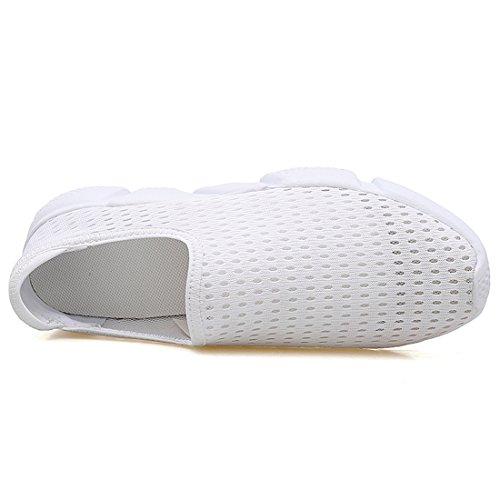 Mesh Shoes Women Breathable Sneakers Unisex White Couple Fashion Sport Athletic SEVENWELL Men Casual vqUxwWgP