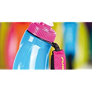 FuelBelt Helium Sprint Ergonomic Bottle, Maui Pink/Grape, 10-Ounce