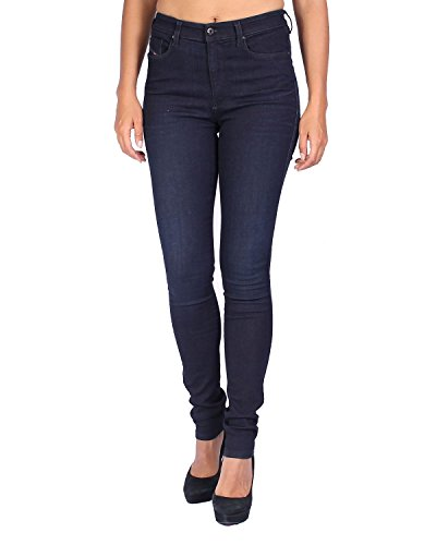 Mujer Vaquero Super Skinzee Skinny Jeans 838R Diesel Azul Marino High para Slim 5CpqtxIwZ