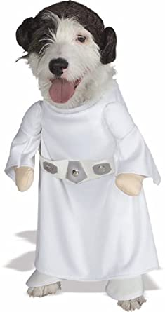 Amazon.com  Star Wars Princess Leia Pet Costume Medium  Lei Dog Costume  Pet Supplies  sc 1 st  Amazon.com & Amazon.com : Star Wars Princess Leia Pet Costume Medium : Lei Dog ...