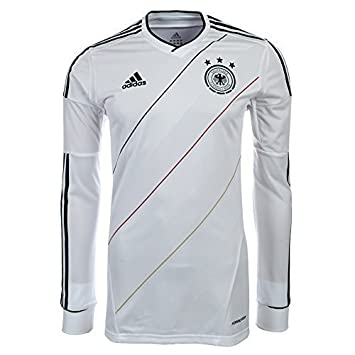 c114779a3 Adidas Formotion DFB Germany Player Issue Jersey White Long-Sleeved Weiß  Langarm Size M
