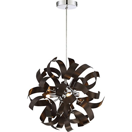 Quoizel RBN1512WT Three Light Mini Pendant, Small, Western Bronze