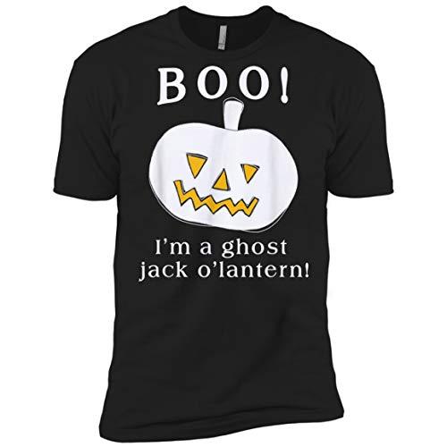 Boo I'm A Ghost Jack O Lantern Halloween Costume Black]()