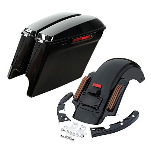 dlebags CVO Rear Fender Compatible with Harley Street Electra Glide 14-18 ()