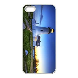 Lighthouse Hight Quality Plastic Case for Iphone 5s