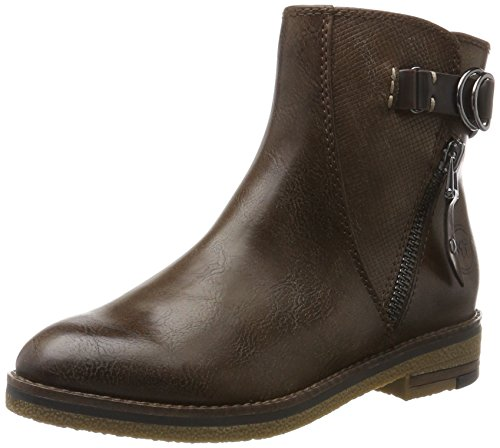 25409 Para Marrón Marco Tozzi Botas Ant mud comb Mujer 5tpqHpxw