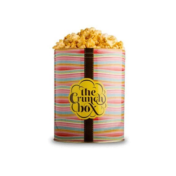 The Crunch Box Fiery Peri Bomb Popcorn Tin - 100 GMS