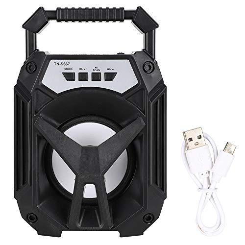 Garsent Bluetooth-luidspreker, draagbare Bluetooth 4.2-luidspreker voor buiten, met oplaadbare batterij, U-schijf, TF…