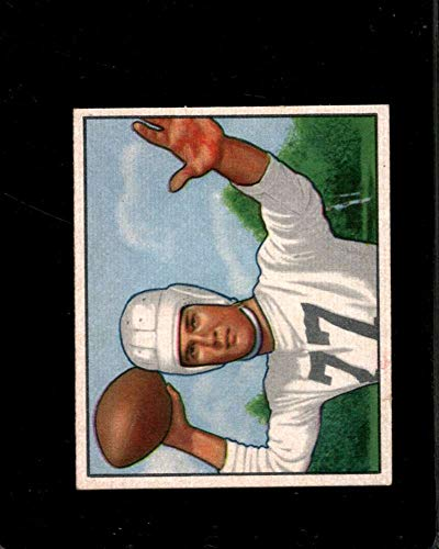 1950 BOWMAN #54 BOB GAGE EXMT STEELERS