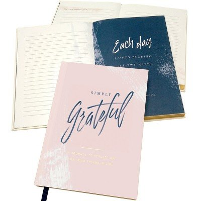 Green Inspired Simply Grateful Journal Multi-Colored by GREEN INSPIRED