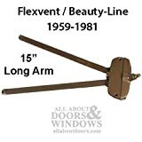 Andersen awning window Operator, Flexivent, Beauty-Line 15'' long arm - Bronze
