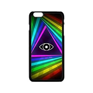 Classic Style Custom TPU Hard Rubber Case for iPhone6(4.7inch) - Eye of Providence