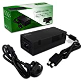 Xbox One Power Supply Brick, Ponkor AC Adapter Charger Cord Replacement Kit with UK 3-Pin Power Cable For Microsoft XBOX One