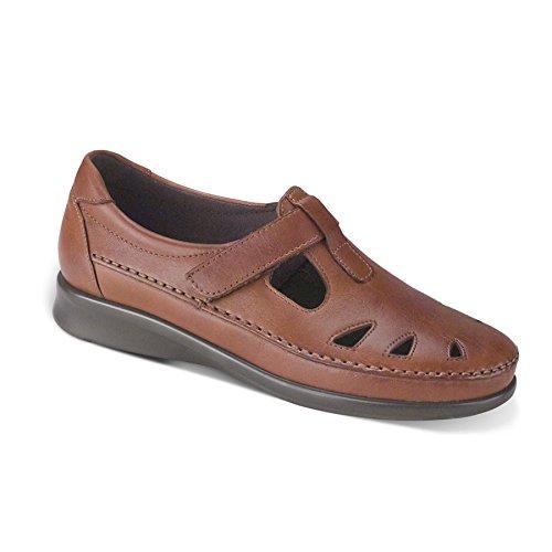 SAS Women's Roamer Slip-on Shoes,Chestnut 8.5M