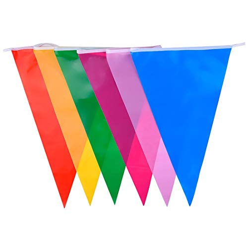 Flags, Banners & Accessories - Multicolor Polyester Bunting Banner Double Sided Indoor Outdoor Party Decoration 9m - Fe Camshaft Key Flag Mazda Rear D Vw Car Pack Muslim Hornet Victory Flag