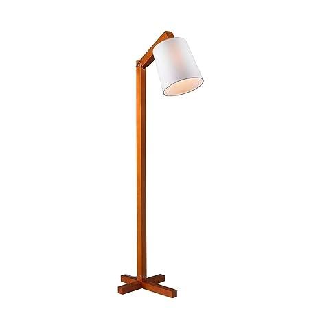 Floor Lamp, Lámpara de pie, moderna moderna de madera maciza ...