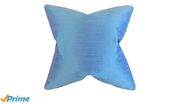 The Pillow Collection Acker Solid Bedding Sham Azure King//20 x 36