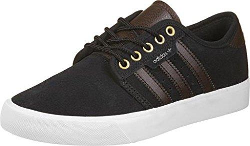 adidas SEELEY - Zapatillas deportivas para Hombre, Negro - (NEGBAS/MAROSC/FTWBLA) 36