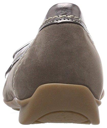 Fumo Gabor Ballerine Sport Argento Comfort Donna Marrone xrrRwzPn