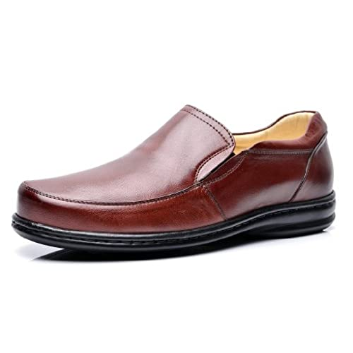 282d1a5ea Opananken Men s Super Care Ruffino Vegetable Tanned Sheep Leather Loafer  high-quality