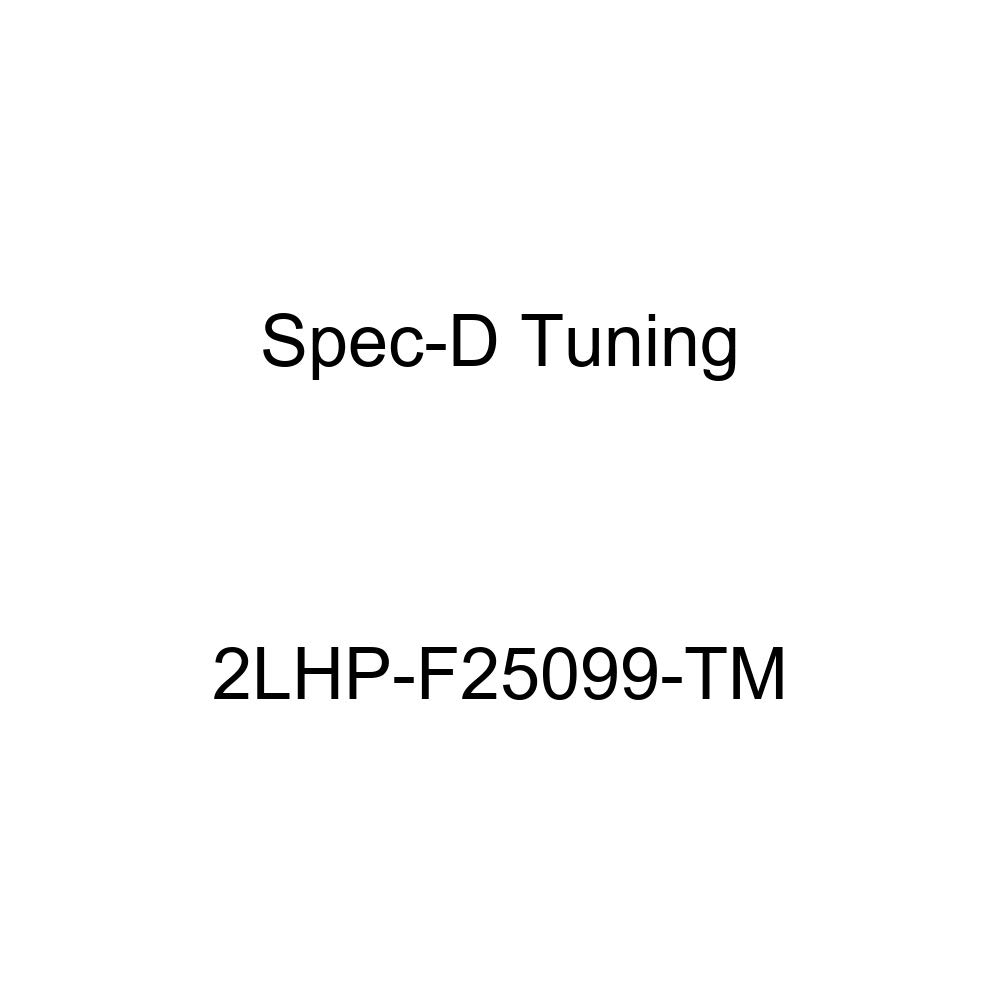 Spec-D Tuning 2LHP-F25099-TM Chrome Projector Headlight Halo Led