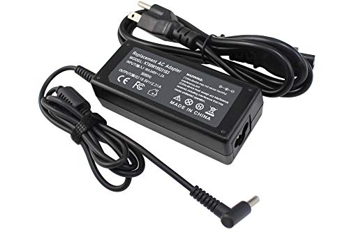LNOCCIY 19.5V 2.31A 45W 4.5x3.0mm AC Adapter Laptop Charger Power Cord for HP 719309-001 719309-003 721092-001 741727-001 740015-001 740015-003 ADP-45WD B; Stream 11 13 14