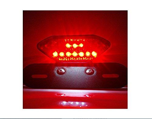 Fanale Posteriore,LED Faro di Coda,Luci di stop per moto,Indicatori di Direzione per Moto,a LED integrati Harley Motorcycle Indicatore di direzione luce targa del freno
