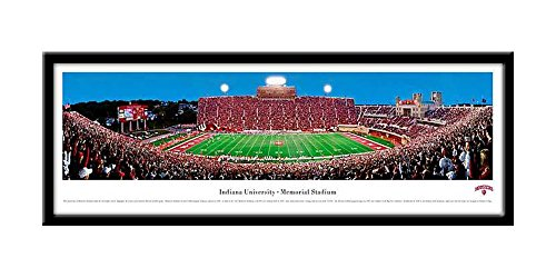 Campus Images NCAA Indiana University Bloomington Framed Stadium Print by Campus Images